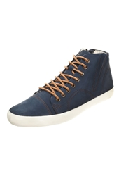 Vagabond Budoni Hightop Trainers Indigo Dark Blue