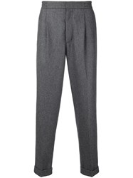 Closed Lexington Tapered Trousers Grey