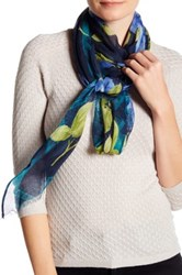 Collection Xiix Bordering The Rose Scarf Blue