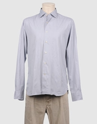 G.V. Conte Long Sleeve Shirts Light Grey
