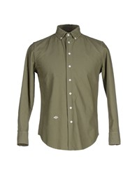 Band Of Outsiders Shirts Shirts Men Military Green
