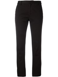 Saint Laurent Cuffed Chinos Black