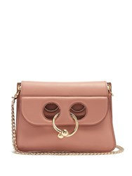 J.W.Anderson Pierce Mini Leather Cross Body Bag Pink