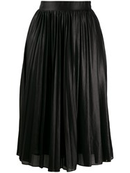 Pinko Georgette Skirt Black