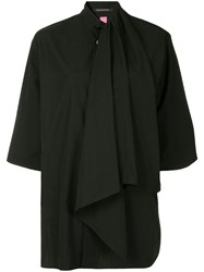 Y's Pleated Layer Black