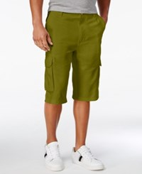 Sean John Men's Lamb Cargo Shorts Grapeleaf