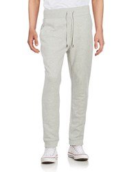Brooks Brothers Ribbed Knit Sweatpants Grey