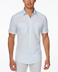 Inc International Concepts Duck Dive Short Sleeve Shirt Only At Macy's