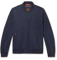 Tod's Shell Bomber Jacket Navy