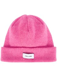 Soulland Classic Beanie Wool Pink Purple