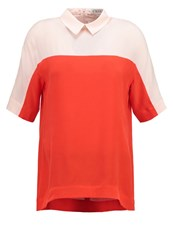 Cara Blouse Rot Nude Red