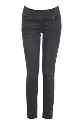 Topshop Maternity Dark Grey Leigh Jeans Grey