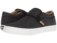 Supra Cuba Black Wash White Men's Skate Shoes