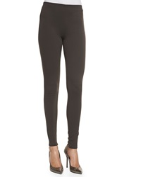 Lafayette 148 New York Punto Milano Leggings Granite