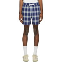 Adaptation Blue Plaid Shorts