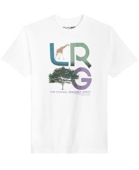 Lrg Men's New Icons Short Sleeve T Shirt White