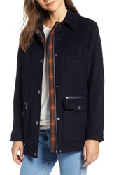 Pendleton Missoula Field Coat Navy