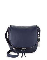 Vince Camuto Baily Leather Crossbody Bag Peacoat Blue