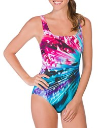 Reebok Maximal Rays One Piece Multi Colored