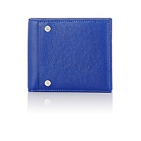 Balenciaga Men's Arena Classic Square Wallet Blue