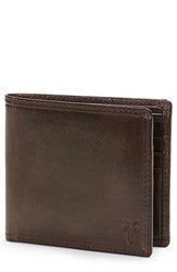 Frye Men's 'Logan' Leather Billfold Wallet Brown Online Only Slate