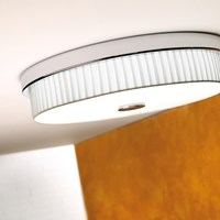 Bover Rondo I Ceiling Light Cream Grey White