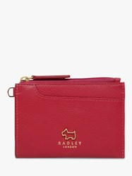 Radley Pockets Leather Small Coin Purse Claret Red