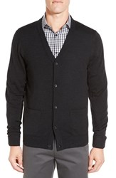 John W. Nordstromr Men's Nordstrom 'Basic' Wool Button Cardigan