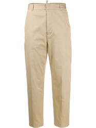 Dsquared2 Plain Cropped Trousers 60