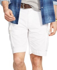 Polo Ralph Lauren Men's Relaxed Fit Chino Cargo Short White