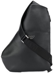 Emporio Armani Crossbody Strap Backpack Black