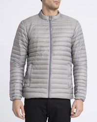 Pyrenex Light Grey Mateo Ultra Light Down Jacket