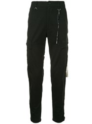 Mastermind World Skull Cargo Trousers Black