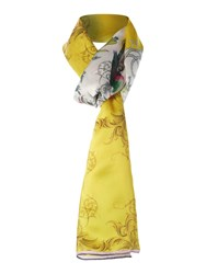 Ted Baker Passion Flower Long Scarf Multi Coloured Multi Coloured