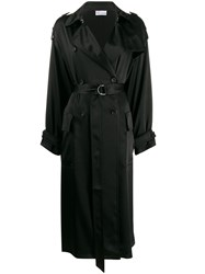 Red Valentino Double Breasted Belted Trench 60