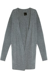 Rta Denim Serge Cashmere Cardigan Grey