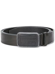 Dsquared2 Classic Logo Buckle Belt Black
