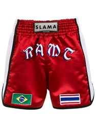Amir Slama Boxing Shorts Red
