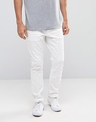 Scotch And Soda Slim Fit Jeans White