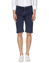 X Cape Trousers Bermuda Shorts Men Dark Blue