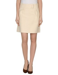 Hoss Intropia Mini Skirts Ivory