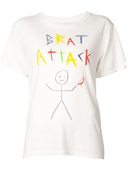 Enfants Riches Deprimes 'Brat Attack' T Shirt White