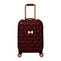 Ted Baker Beau Suitcase Burgundy Limited Edition Red