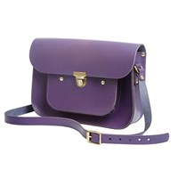 N'damus London Plum 11 Inches Mini Pocket Satchel Pink Purple
