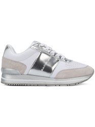 Calvin Klein Jeans Colour Block Sneakers Nude And Neutrals
