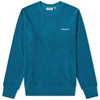 Carhartt Wip Terry Brushed Sweat Blue