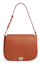 Shinola Calfskin Leather Shoulder Bag