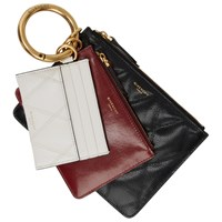 Givenchy Black And Burgundy Gv3 Multi Pouch