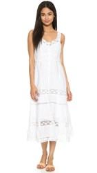 Nanette Lepore All Laced Up Dress Ivory