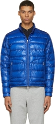 Moncler Royal Blue Quilted Down Acorus Jacket